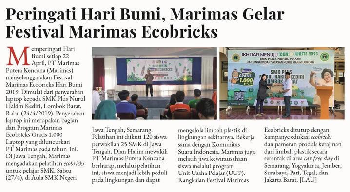 festival marimas ecobricks